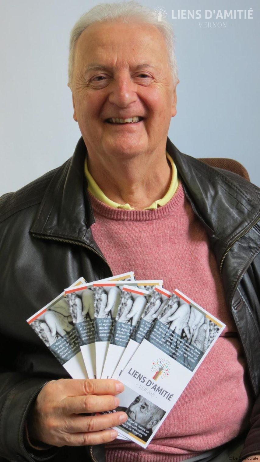 Bertrand Vanhoutte, Vernonnais de 75 ans, est le président de cette association.